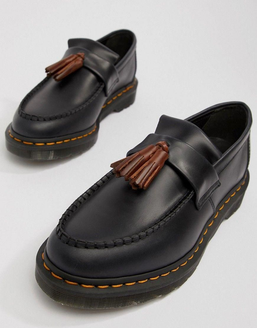 Dr Martens Adrian Tassel Loafers In Navy Navy Dr Martens Shoes Docmartensoutfits Army Boots Dress Shoes Men Tassel Shoes