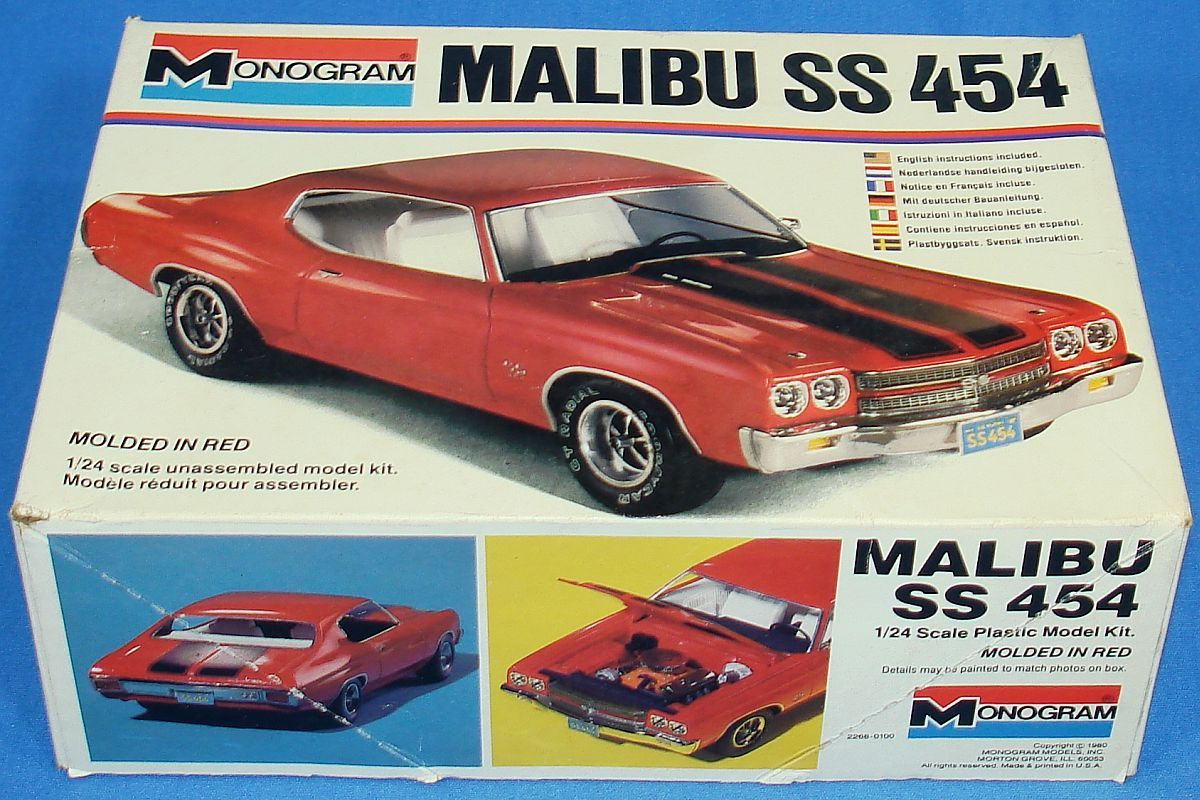 Monogram Chevy Malibu Ss 454 Favorite Places Saturday At The