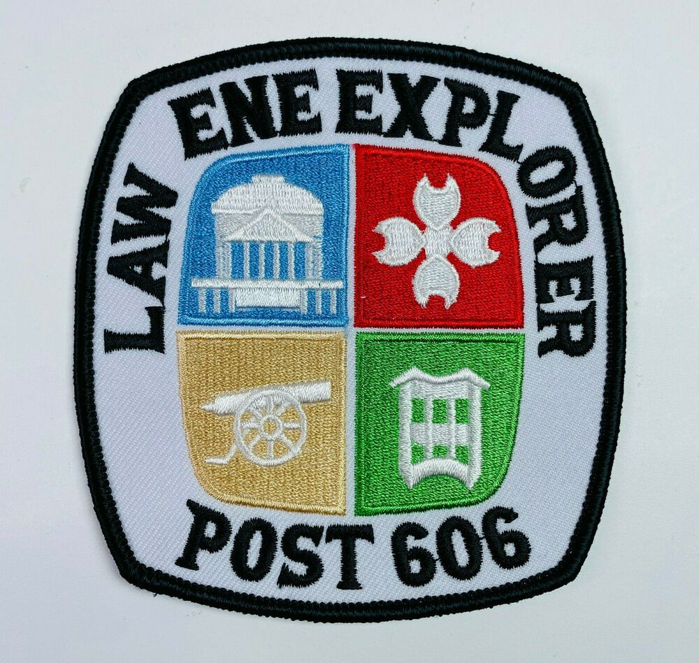 Charlottesville Explorer Post 606 Law Enforcement Virginia Patch Virginia Law Patches Patches For Sale