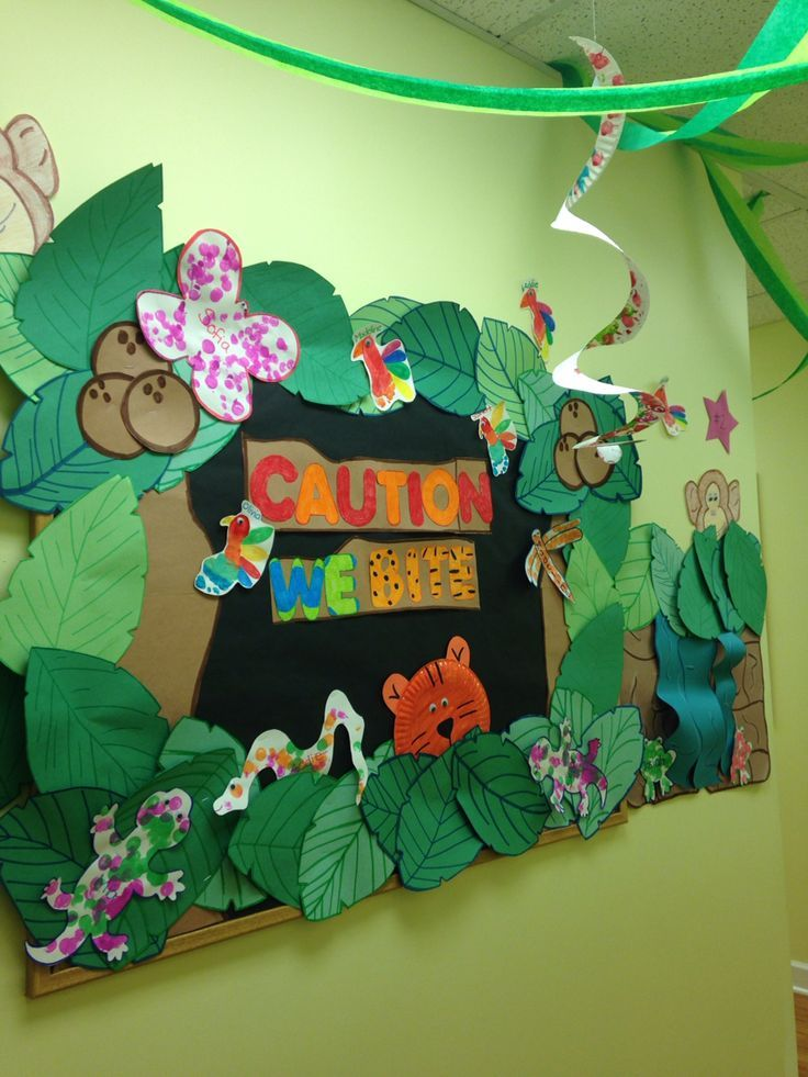 Pin By Norma On Bullentin Boards Jungle Bulletin Boards