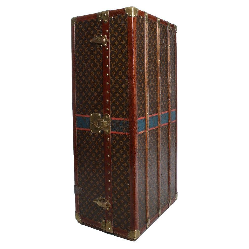 Louis Vuitton Antiker Schrankkoffer Von 1925 Antiker Kleiderschrank Gebraucht Kaufen Wolle Kaufen