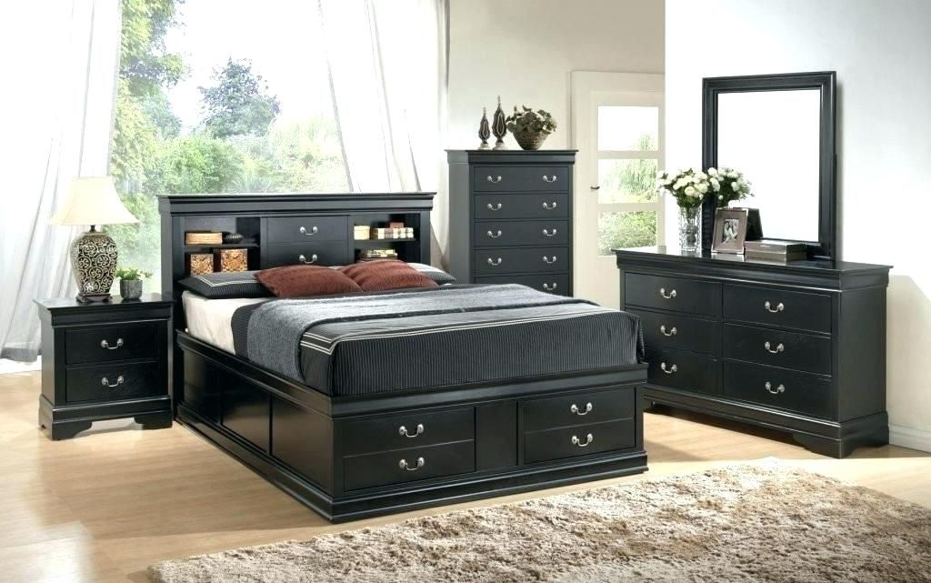 Lovely Astonishing Black Queen Bedroom Set Black Queen Bedroom