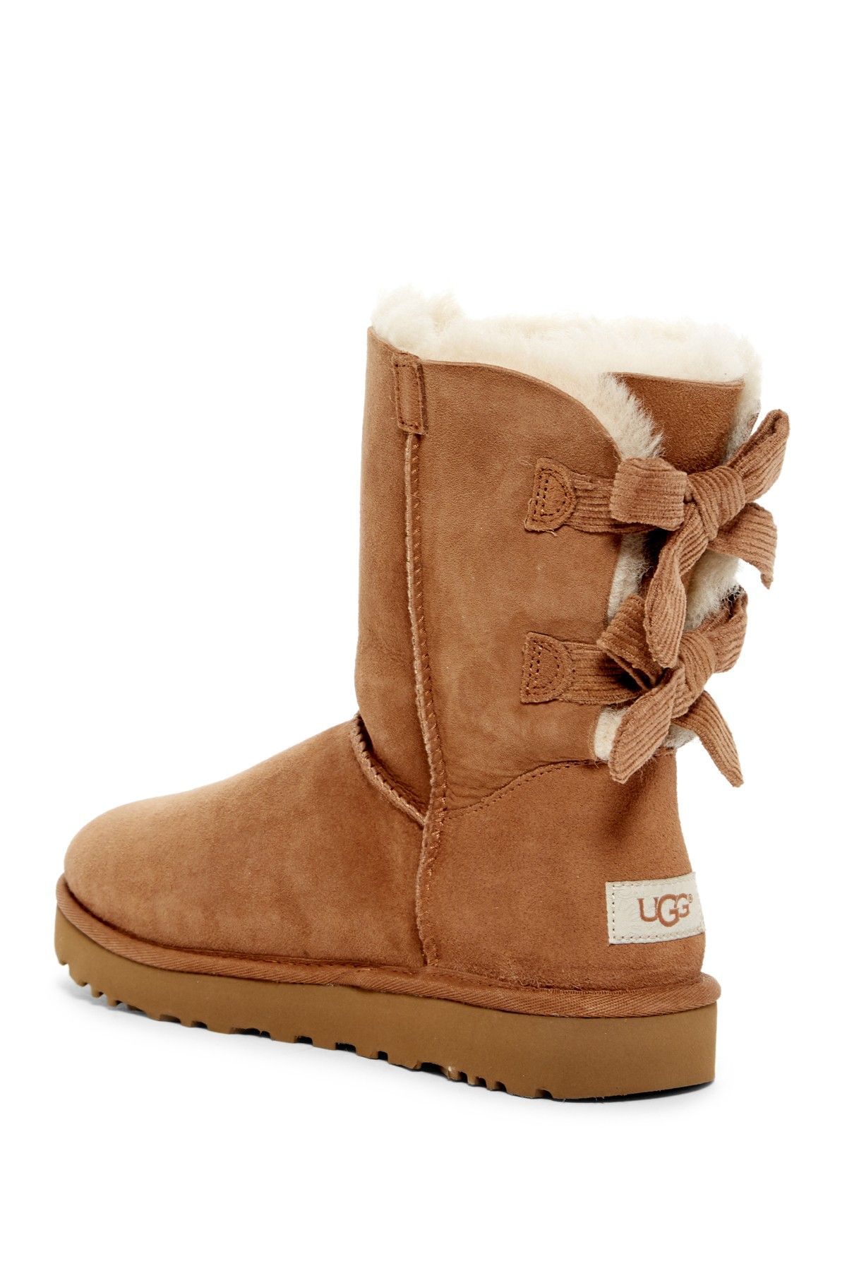 f9a5a202d13 cheap ugg australia genuine sheepskin bailey bow boot ac7c0 051e8