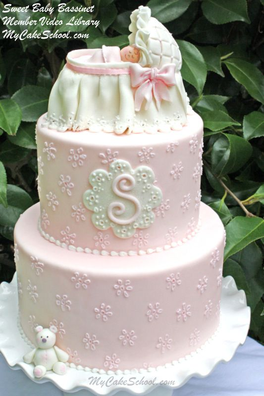 Roundup Of The Best Baby Shower Cakes Tutorials And Ideas
