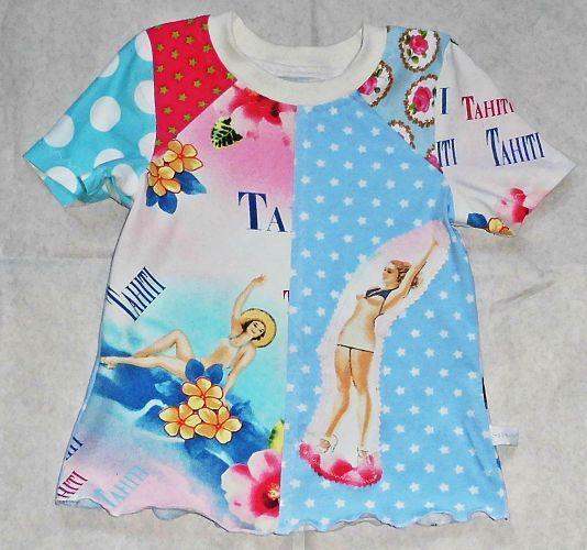 T-shirt Hawai Gr. 110/116 | Mode für kleine mädchen ...