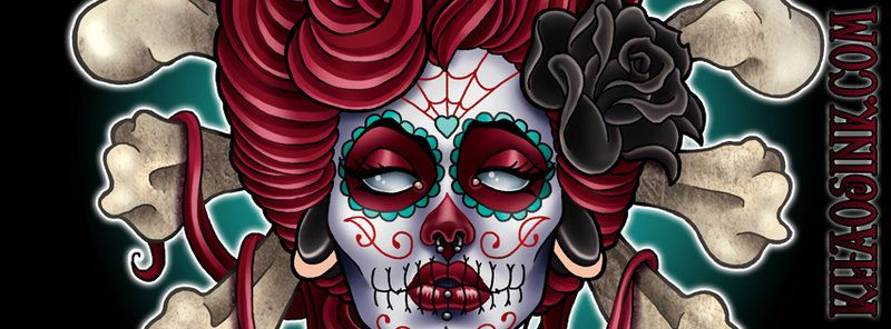 Day of the Dead Facebook Banner by SpikeJones67 on