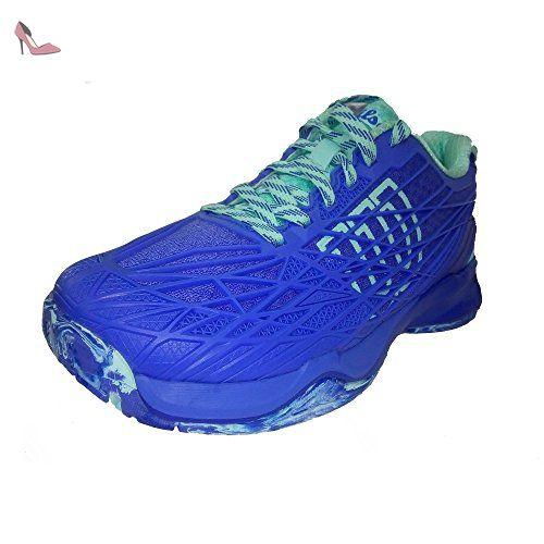 11a42c7cd31a5 Wilson Wrs322470e080, Chaussures de Tennis Femme, Bleu (Amparo Blue   Surf  the Web
