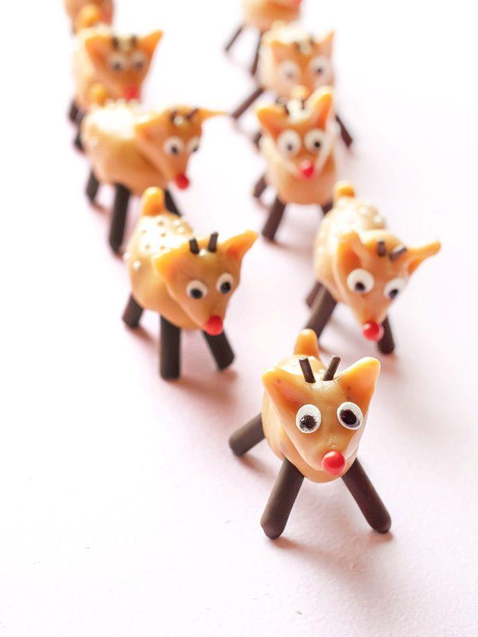 Caramel Reindeer Candies ⋆ Handmade Charlotte