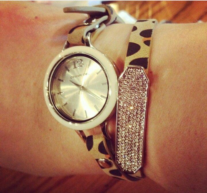 Origami Owl Jewelry | Leopard Wrap Locket Bracelet | Poshmark | 671x720
