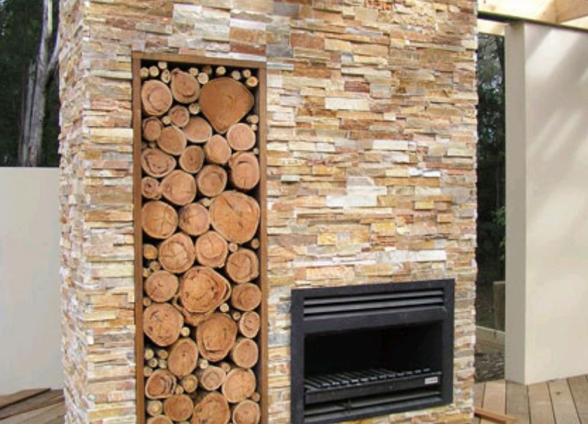 fireplace stone tiles stackstone 3d archives stone pavers bluestone paving - Stone Cladding Fireplace