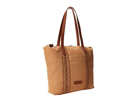 Lucky Brand Grenada Washed Linen Tote Sand 6pm
