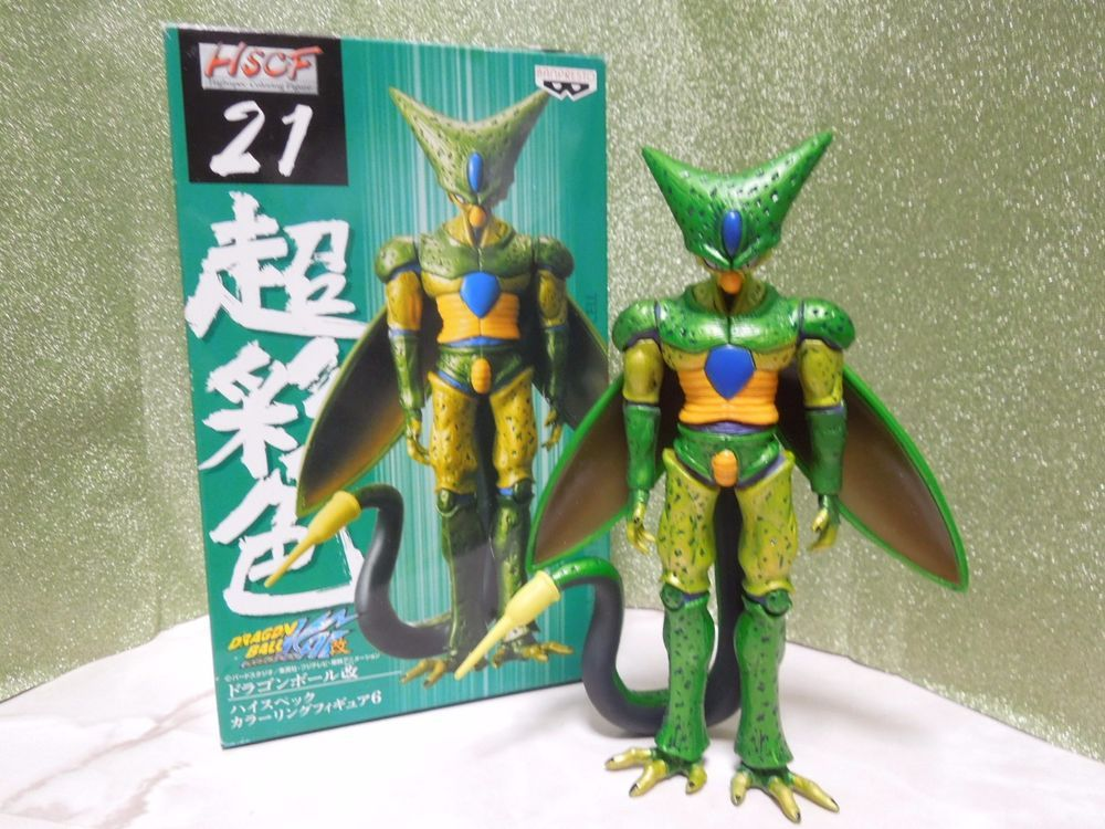 NEW Dragon Ball High Spec Coloring 21 Cell First Form Figure HQ DX ...