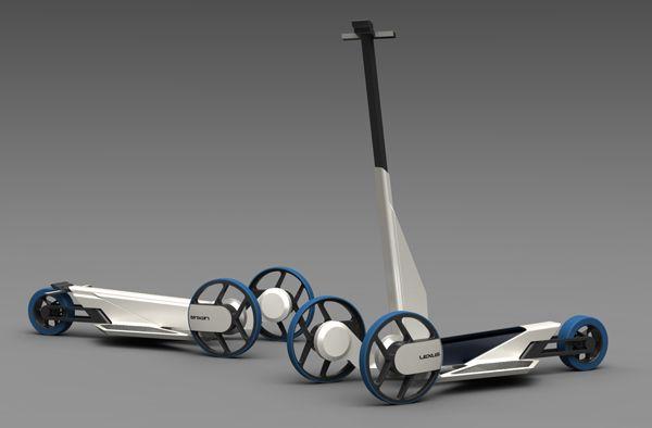 un concept de trottinette moteur hydrog ne design e par konstantin ziman konstantin. Black Bedroom Furniture Sets. Home Design Ideas