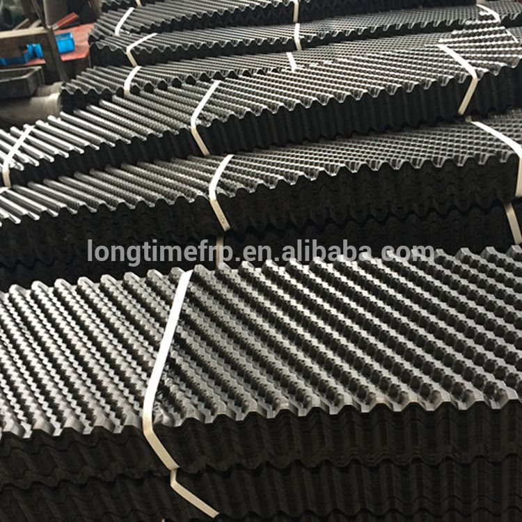 Trickling Filter Plastic Pvc Fill Sheet In Cooling Tower Pvc