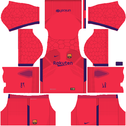 best service fc94f 2dd7f Barcelona Goalkeeper Home Kit Dream League Soccer | Sport