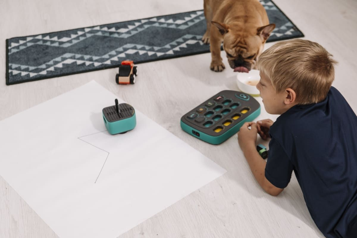 A Lego Compatible Drawbot Which Keeps Kids Away From