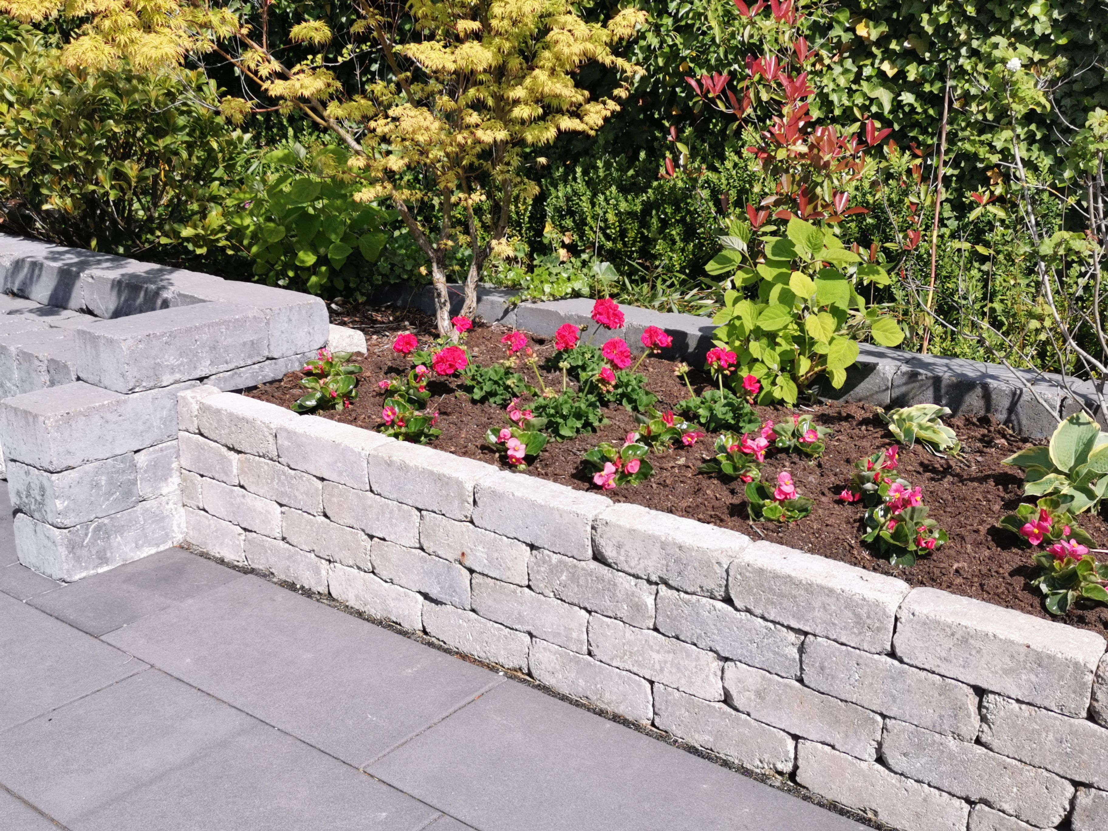 Antik Pico Mauer Von Diephaus Garten Landschaftsbau Garten Hochbeet Garten Design