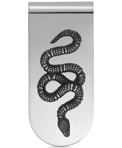 Photo of Gucci Men's Sterling Silver Snake Motif Money Clip  & Reviews – All Fine Jewelry…