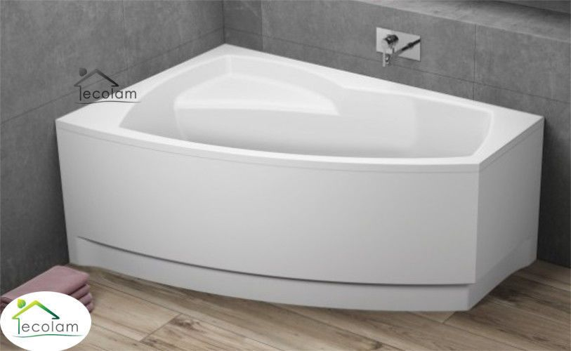 Details zu Badewanne Wanne Eckbadewanne 140 x 90 cm Schürze Ab - Ebay Küchen Kaufen