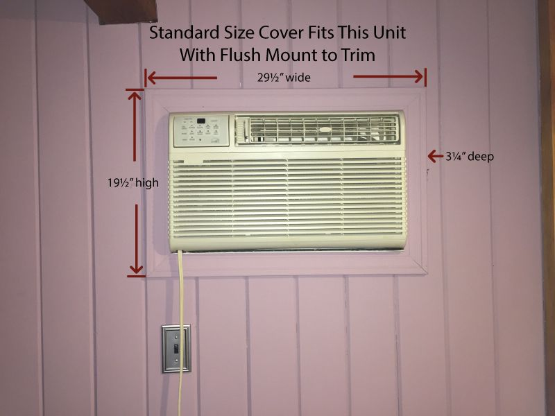 Decorative Indoor Wall Ac Cover In 2020 Ac Cover Wall Mount Ac Unit Custom Sizing