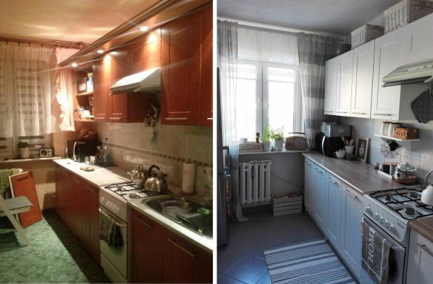 Zdjecie Nr 6 W Galerii Metamorfoza Kuchni W Bloku Sweet Home Kitchen Cabinets Home