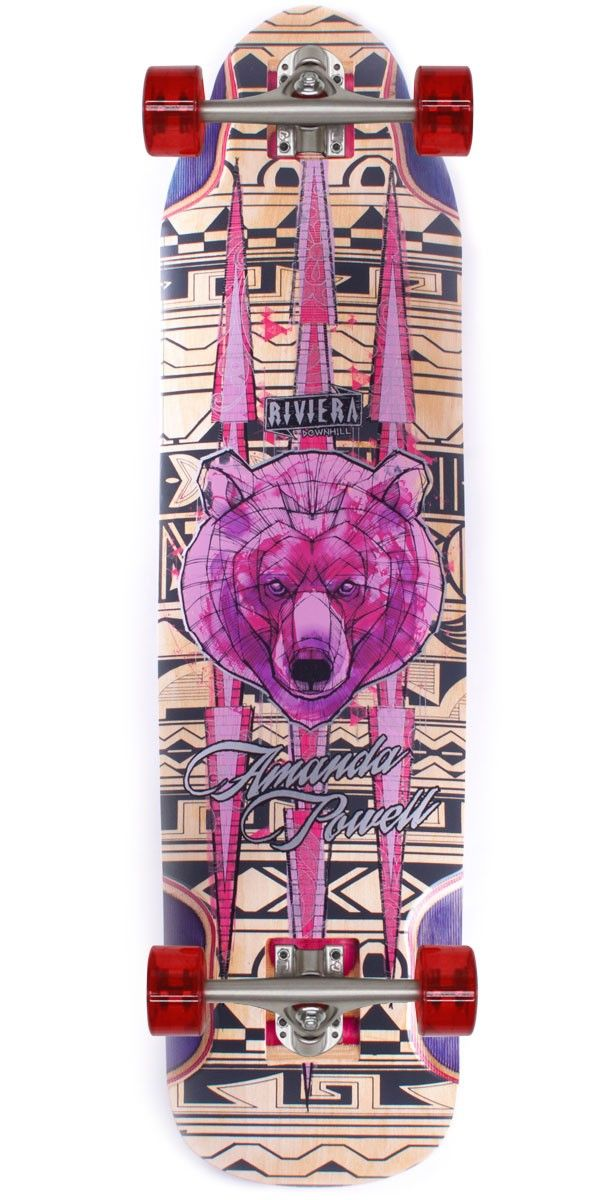 Riviera Ursa Major Amanda Powell Pro Model Longboard Skateboard Team rider Amanda Powell has her own pro model! We're so stoked for you Amanda! Let's get right into it. The Ursa Major fits Amanda's style perfectly, which is just pure flow. Amanda does everything from dancing, freeriding, freestyle, and of course she's also a speed demon as well.