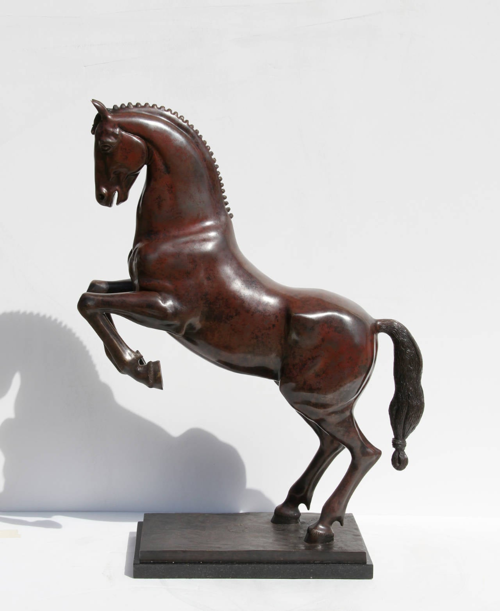 Aga Ousseinov - Horse, Bronze Sculpture For Sale at 1stdibs