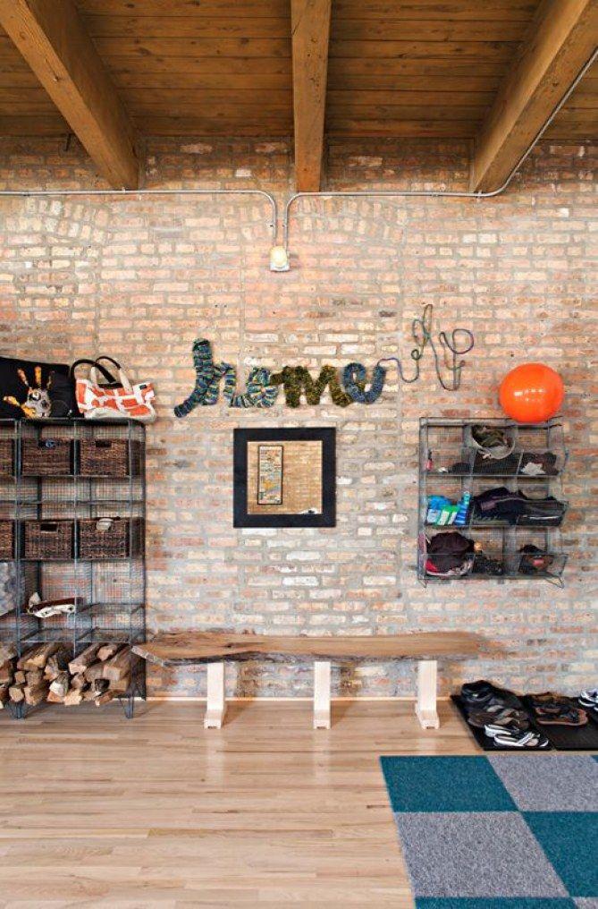 Las mejores ideas para decorar con paredes de ladrillo #deco #pared #ladrillo #brickwall
