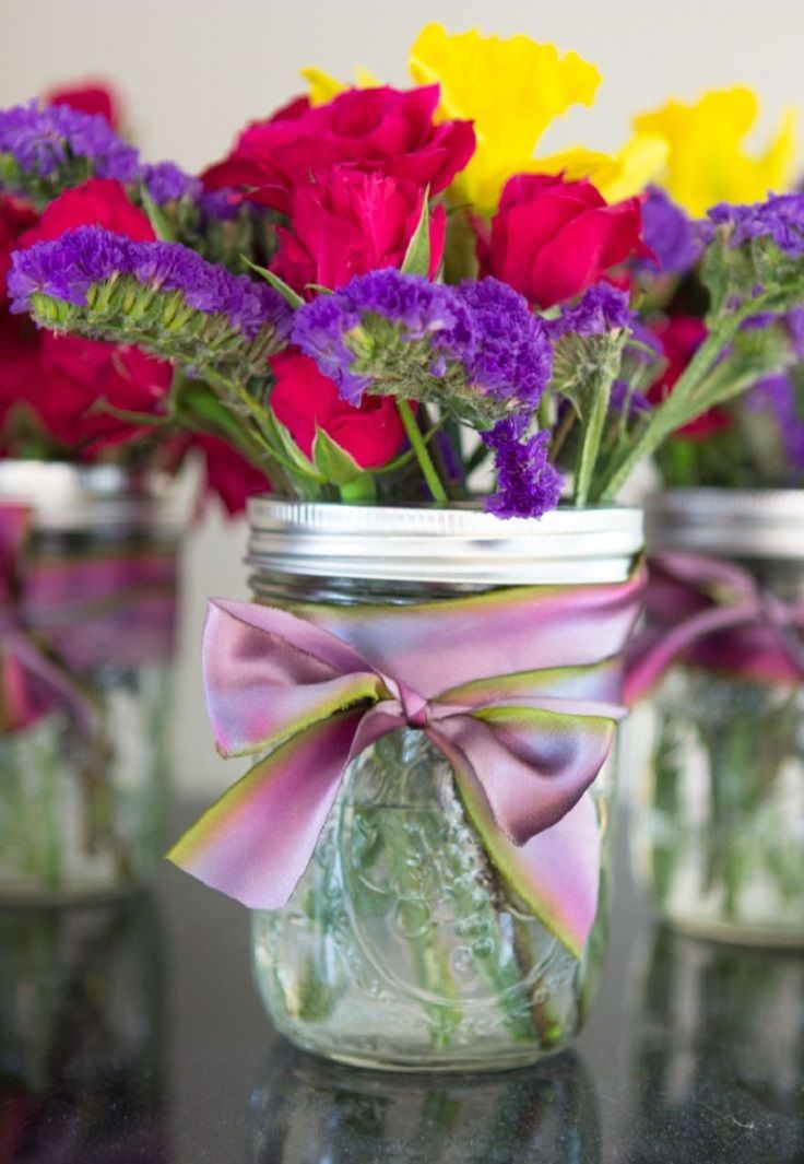 Top 10 Ways To Make Mason Jar Flower Arrangements Spring