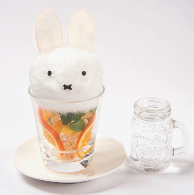ミッフィー のコラボカフェが渋谷パルコにオープン コラボメニューや限定グッズも News 綿菓子 綿菓子ドリンク ミッフィーケーキ