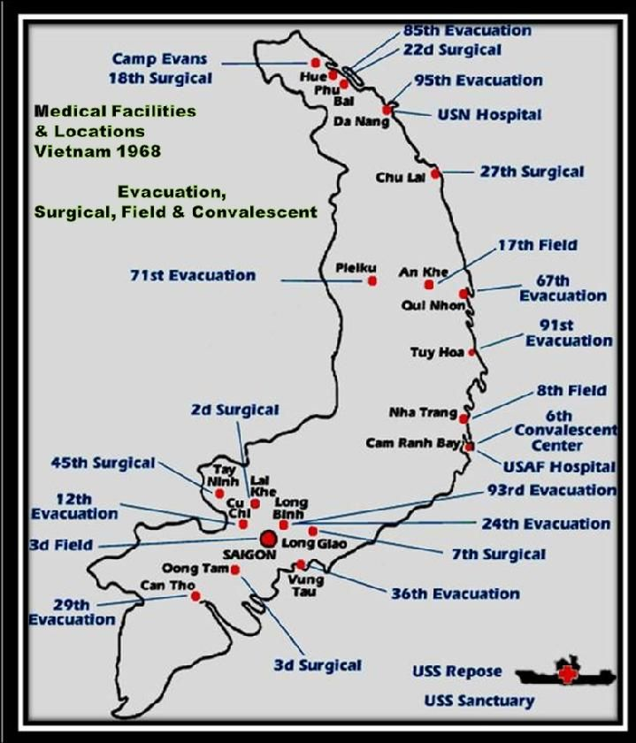Image result for Vietnam Firebase Locations | Lai khe