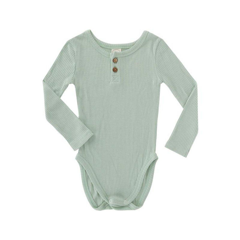 b254a2c791 FasIn Newborn Baby Boy Girl Soft Cotton Long Sleeve Bodysuits (3-6M ...