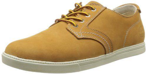 Timberland Newmarket FTB_EK Fulk LP Ox, Herren Sneakers, Braun (WHEAT), 42