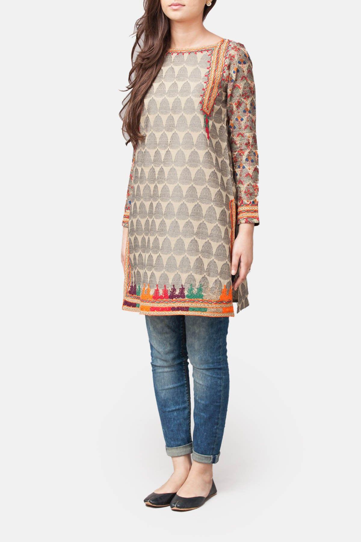 Central Asian Box Tunic - Generation | designer | Pinterest | Tunic ...