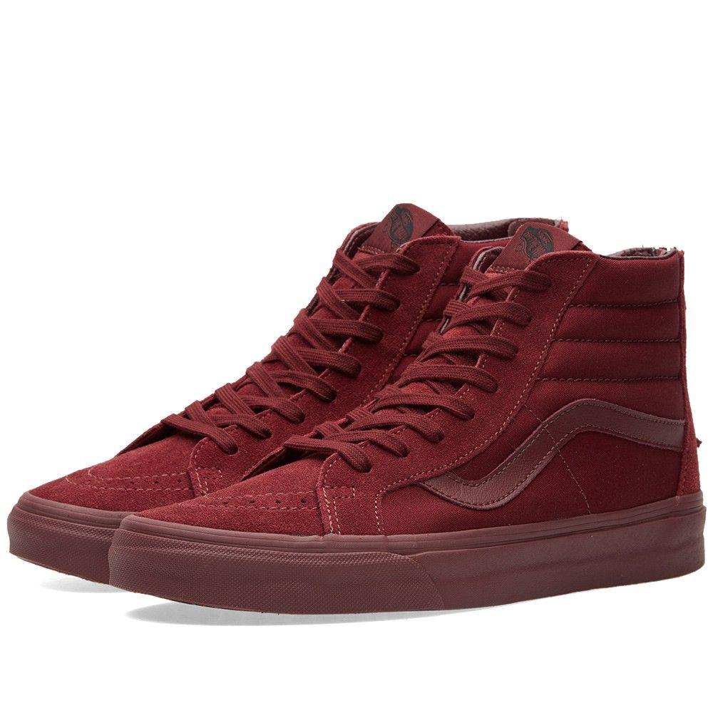 Vans Sk8-Hi Reissue Zip Mono (Port Royale)   Sneakers Footwear 2ee90d04edf