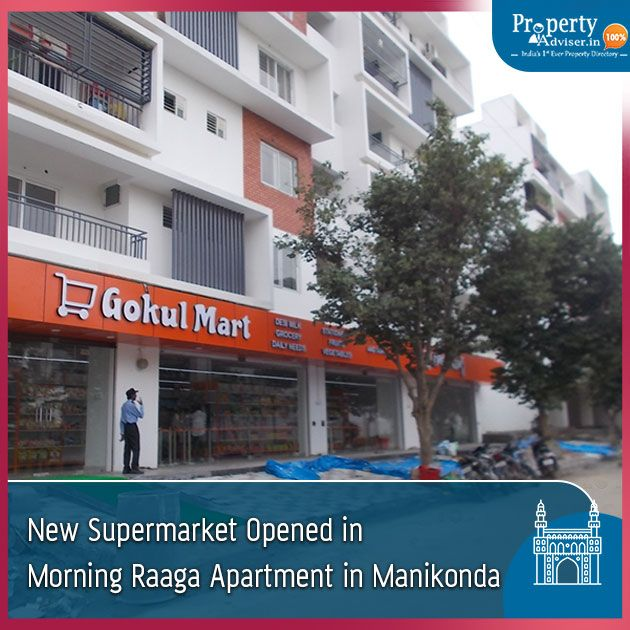 New Supermarket Gokul Mart Has Opened At Morning Raaga Apartment
