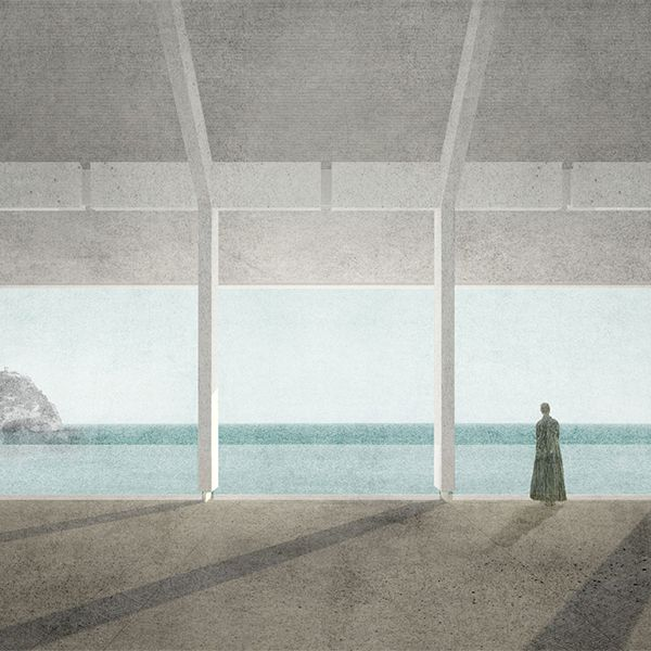 Architecture Drawing Competition 2014 image result for best mixed media architecture representation