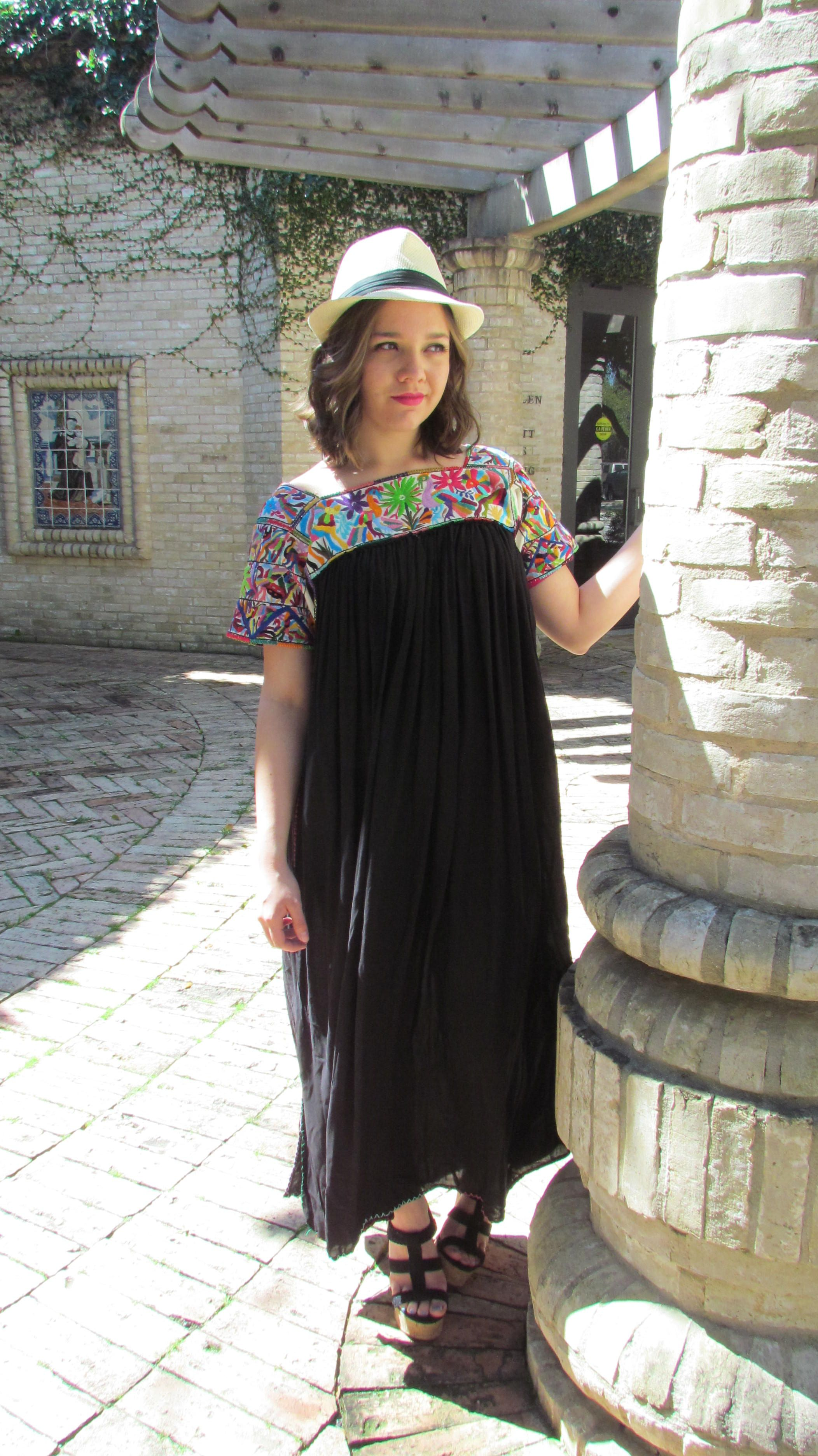bfdfa8393adb Nativa one of a kind mexican summer dress thats hand embroidered jpg  2104x3744 Mexican summer dresses