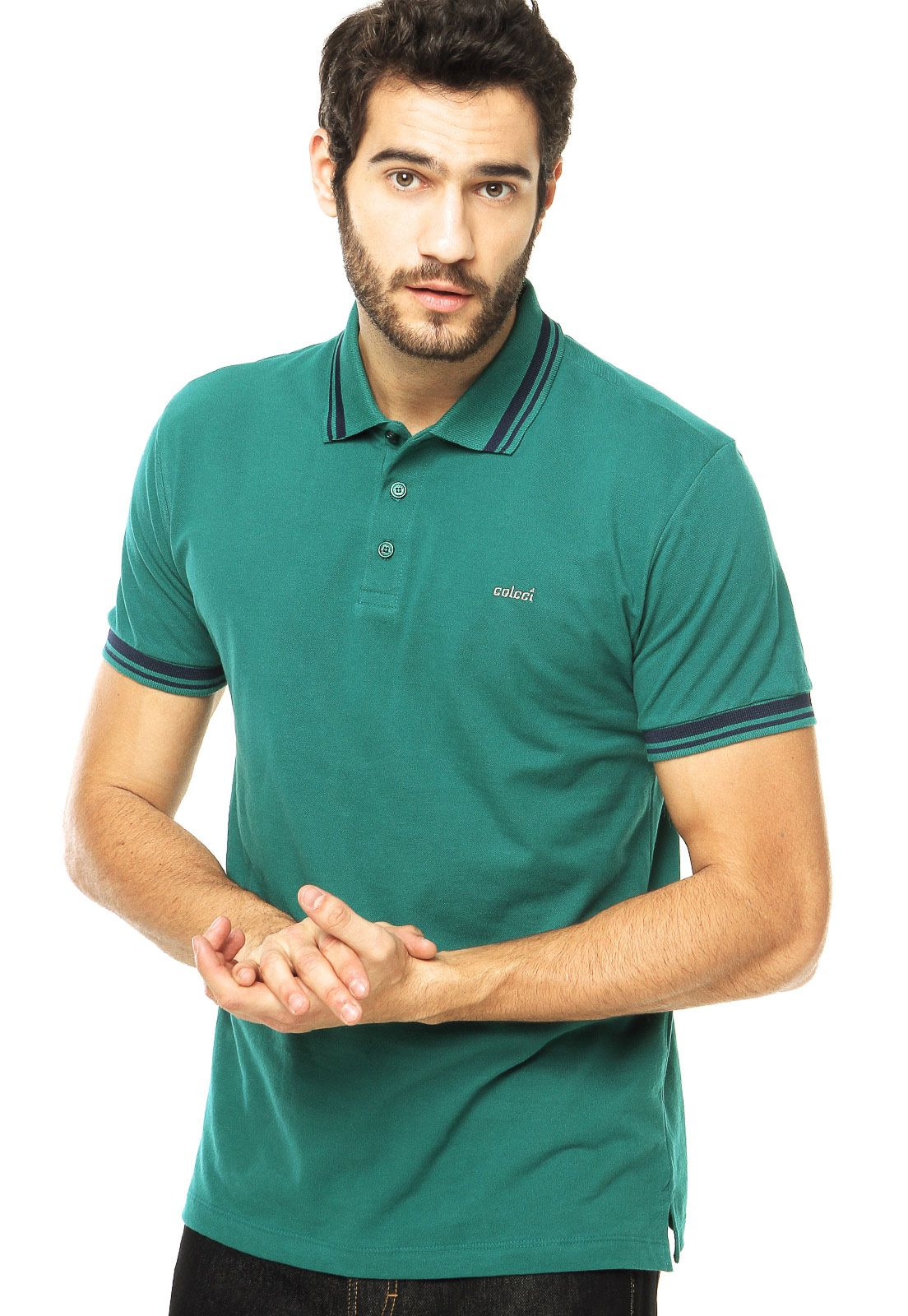 765466b1d3 Camisa Polo Colcci Verde - Compre Agora