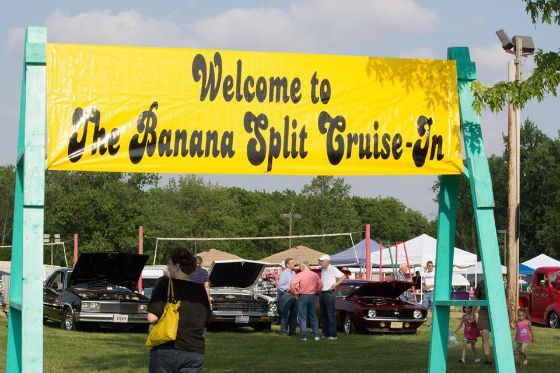 Banana Split Festival every year - The Cruise-In, car show