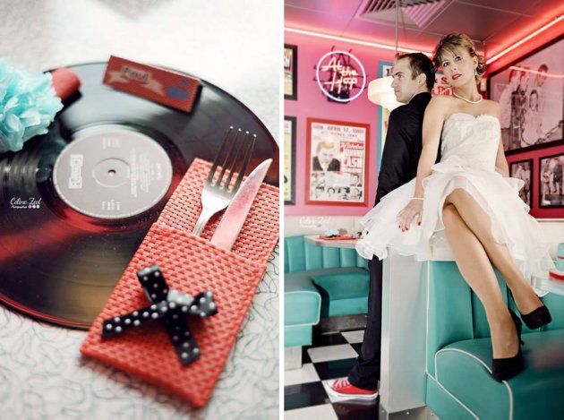 mariage rockabilly des photos d 39 inspiration rockabilly mariage et photos. Black Bedroom Furniture Sets. Home Design Ideas