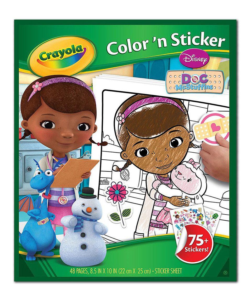 Pinterest Coloring Stickers Doc Mcstuffins Toys Sticker Book