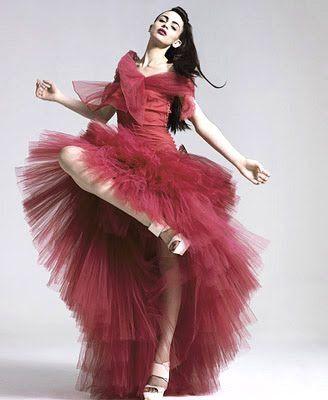 Red Vogue Fashion