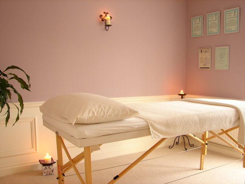 clean bright treatment room retreat pinterest. Black Bedroom Furniture Sets. Home Design Ideas