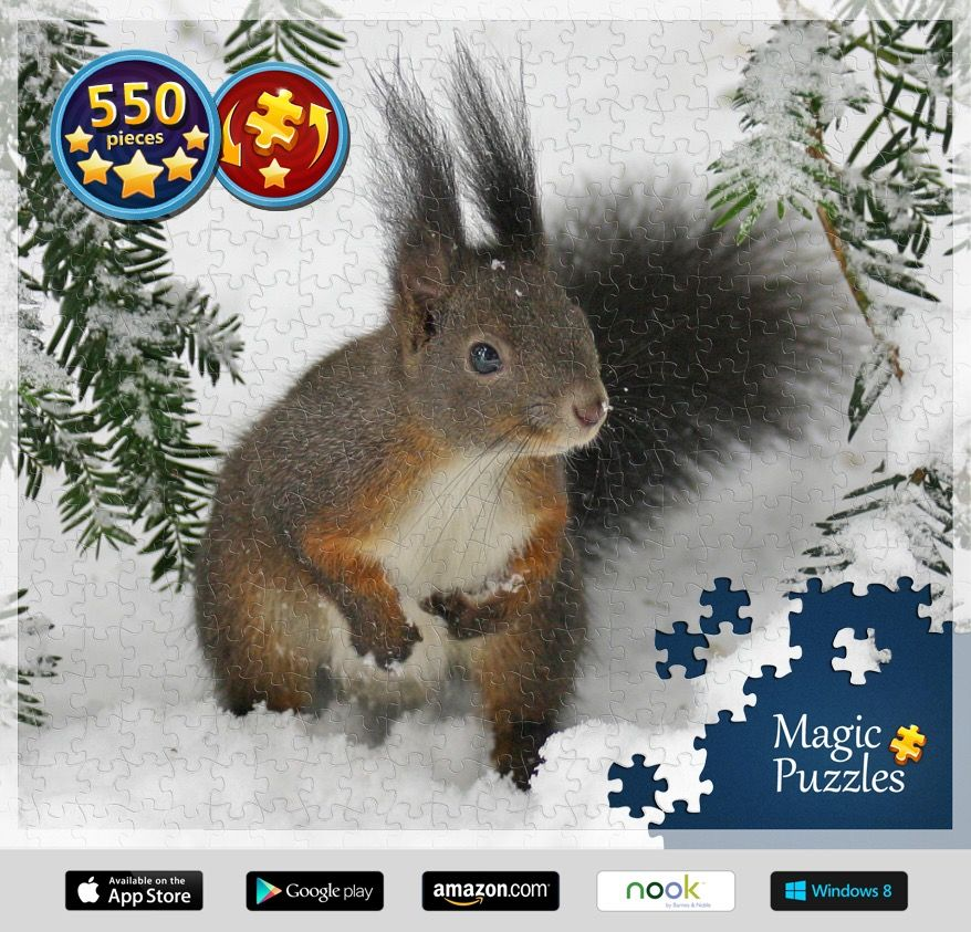I've just solved this puzzle in the Magic Jigsaw Puzzles app for