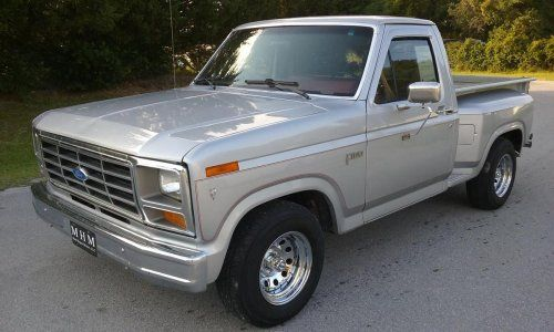 1982 Ford F100 Step Side Short Bed Ford Trucks Ford Pickup Old