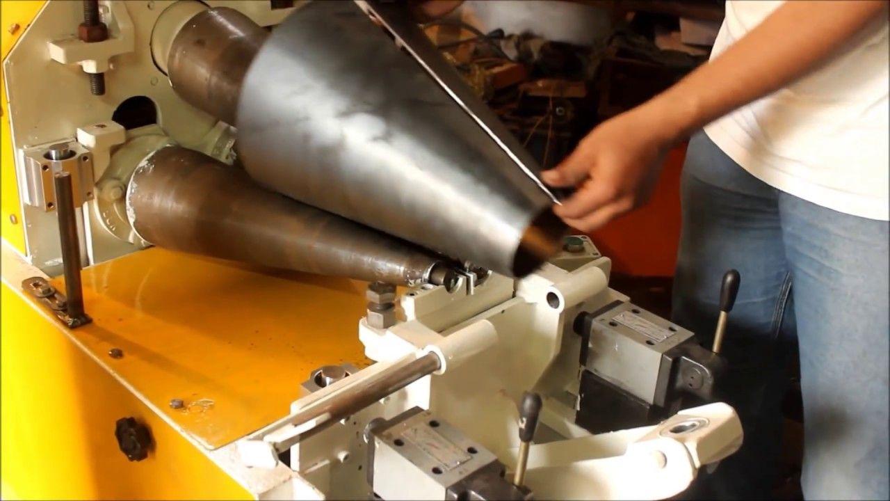 Cone Making Machine V2 Www Vesurface Com Plate Rolling Machine Pla In 2020 Sheet Metal Fabrication Making Machine Metal Working Tools