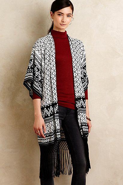 Hudson Kimono Scarf #anthropologie