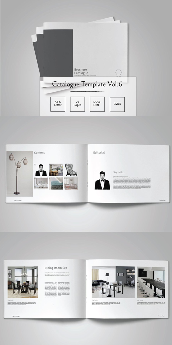6 Page Brochure Template from i.pinimg.com