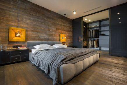Sfeervolle industriële loft slaapkamer | Slaapkamer | Pinterest